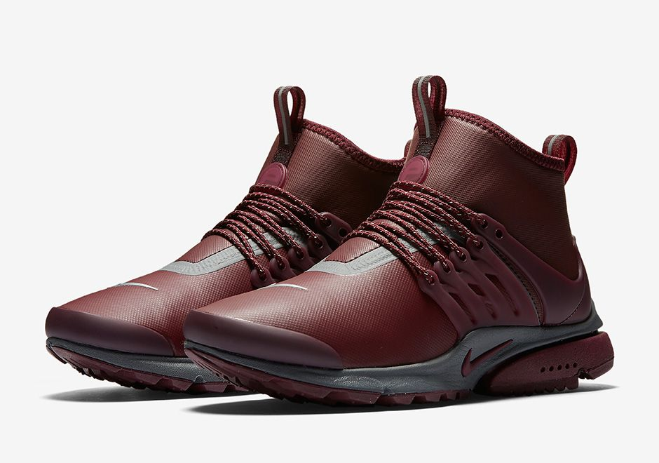 7 colorways of the upcoming Nike Presto Mid Utility will be arriving at…