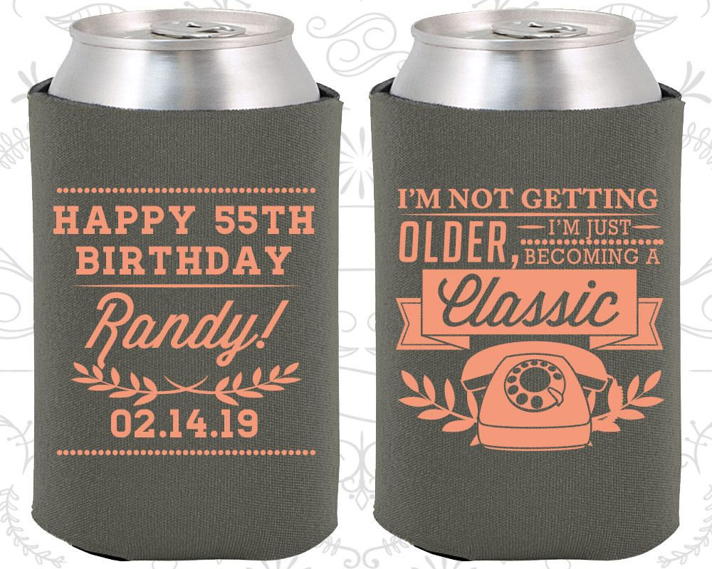 55th birthday favors promotional birthday party gifts