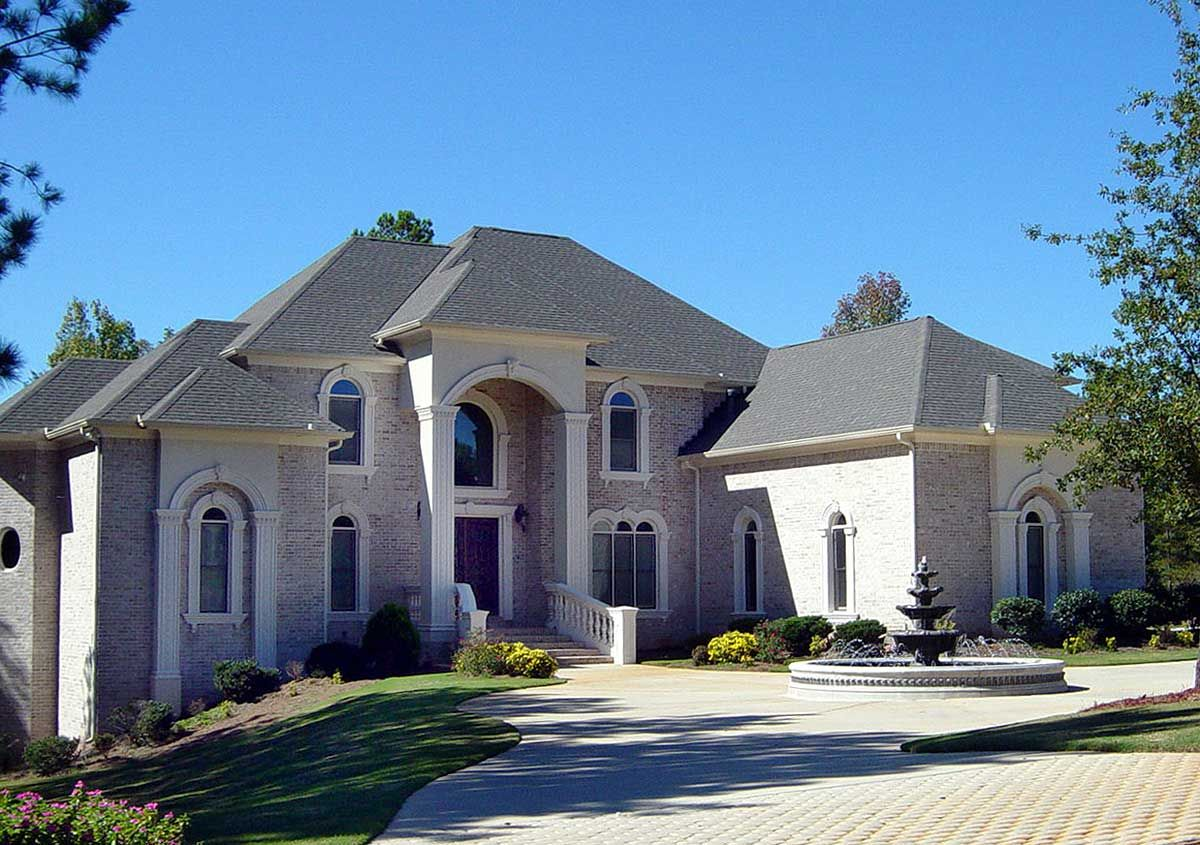 Luxury 5 Bedroom House Plan 5 bedroom house plans, Two