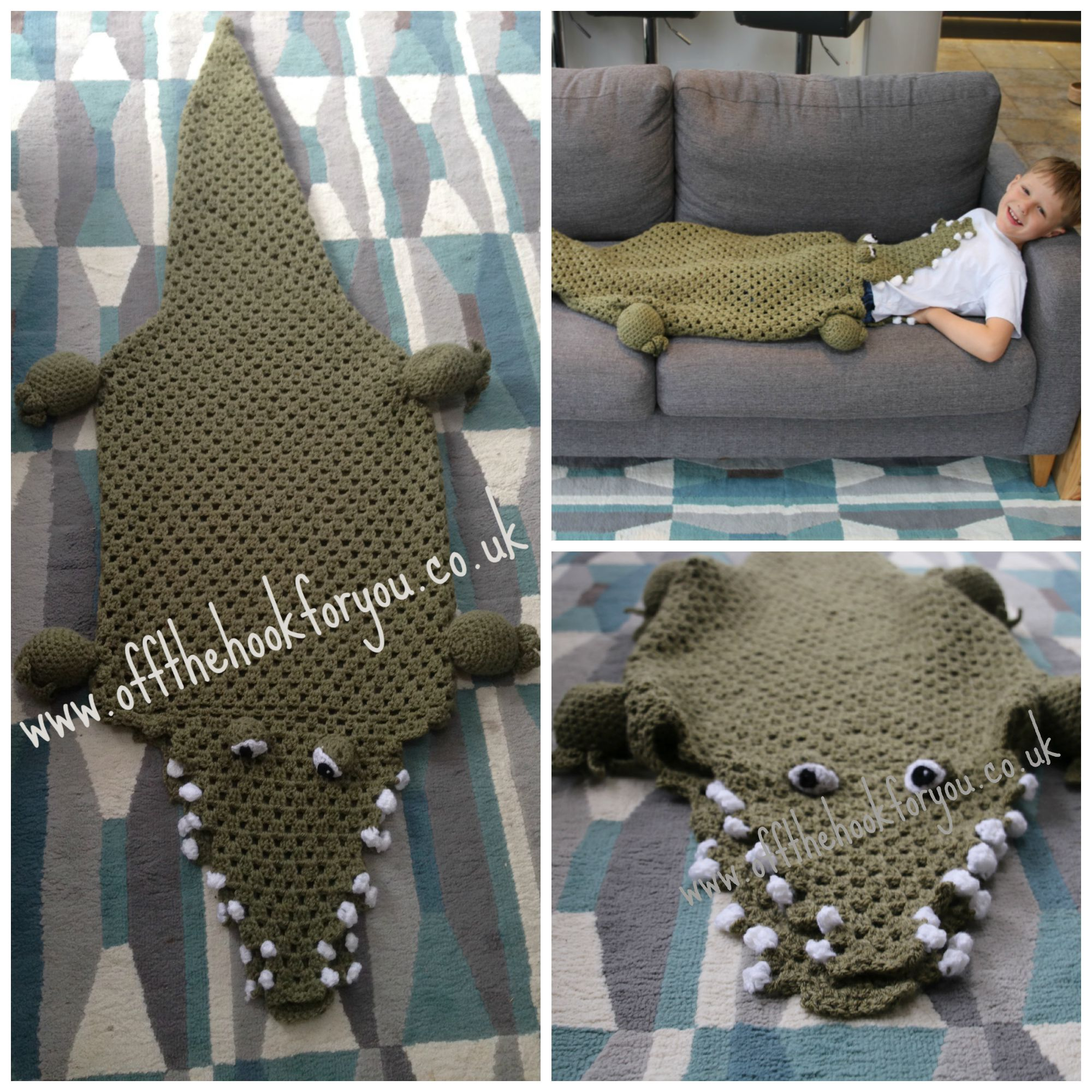 Eaten by a shark the pattern finally blanket crochet crocshark blankets crochet pattern bankloansurffo Choice Image
