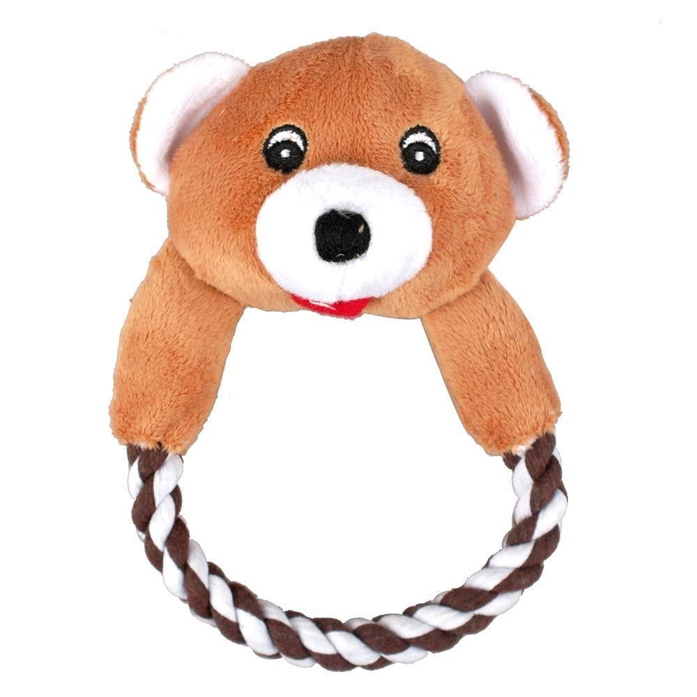 Dog Cat Puppy Plush Toys Interactive Pet Puppy Chew Squeaker