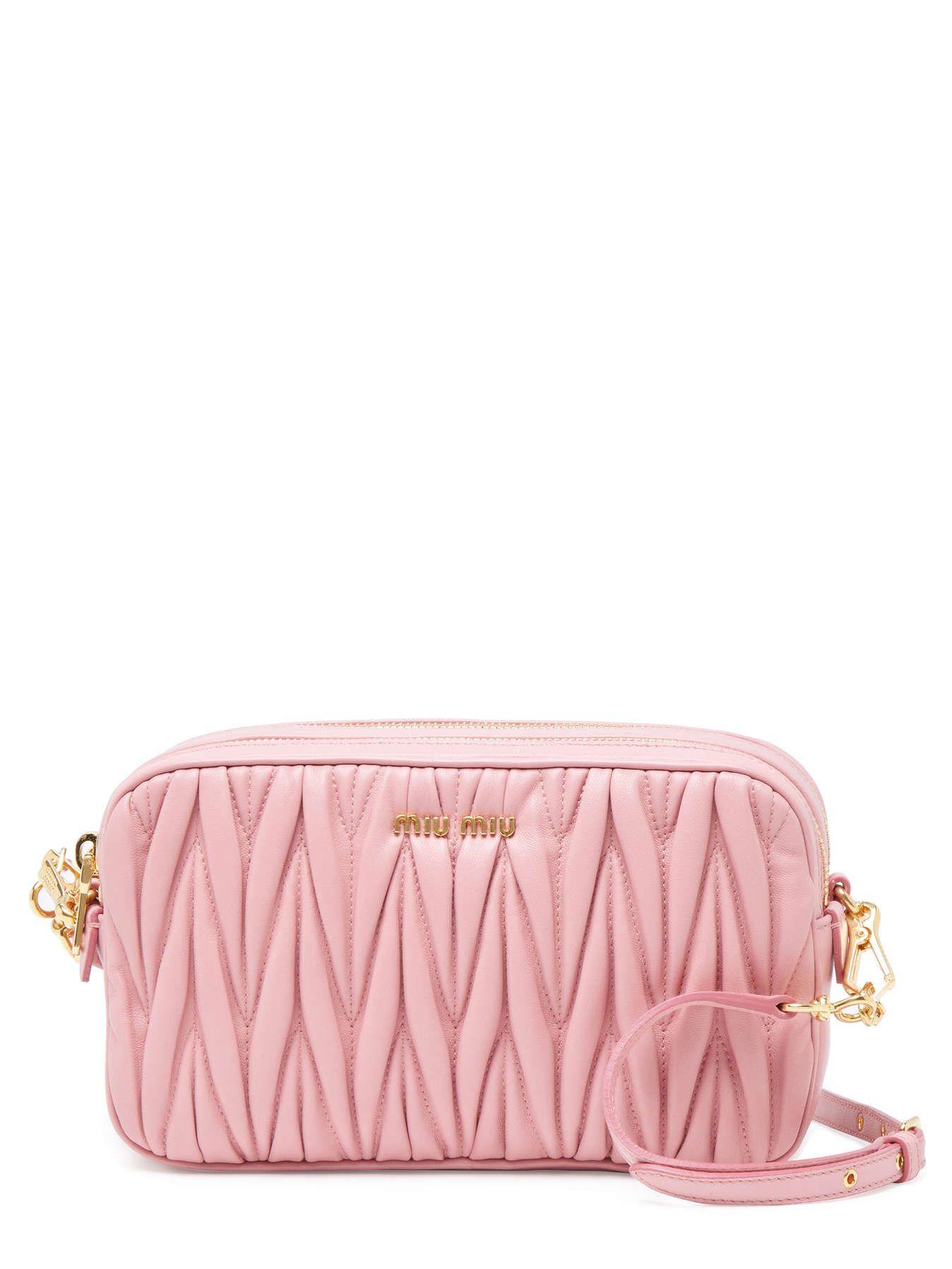 844813b79e0 Small Matelassé Leather Double Zip Crossbody   Handbags   Clutches ...