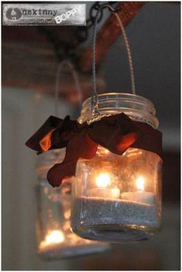 DIY Super Cute Mason Jar Patio Lights!