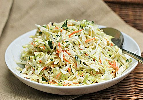 Classic Creamy Coleslaw by thegalleygourmet #Coleslaw #thegalleygourmet