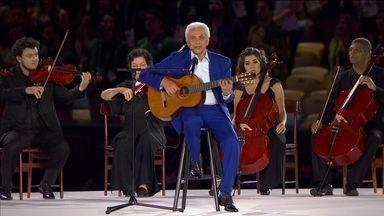 Jogos Olímpicos | Gisele Bundchen desfila ao som de Tom Jobim, na Abertura da Rio 2016 | Globo Play