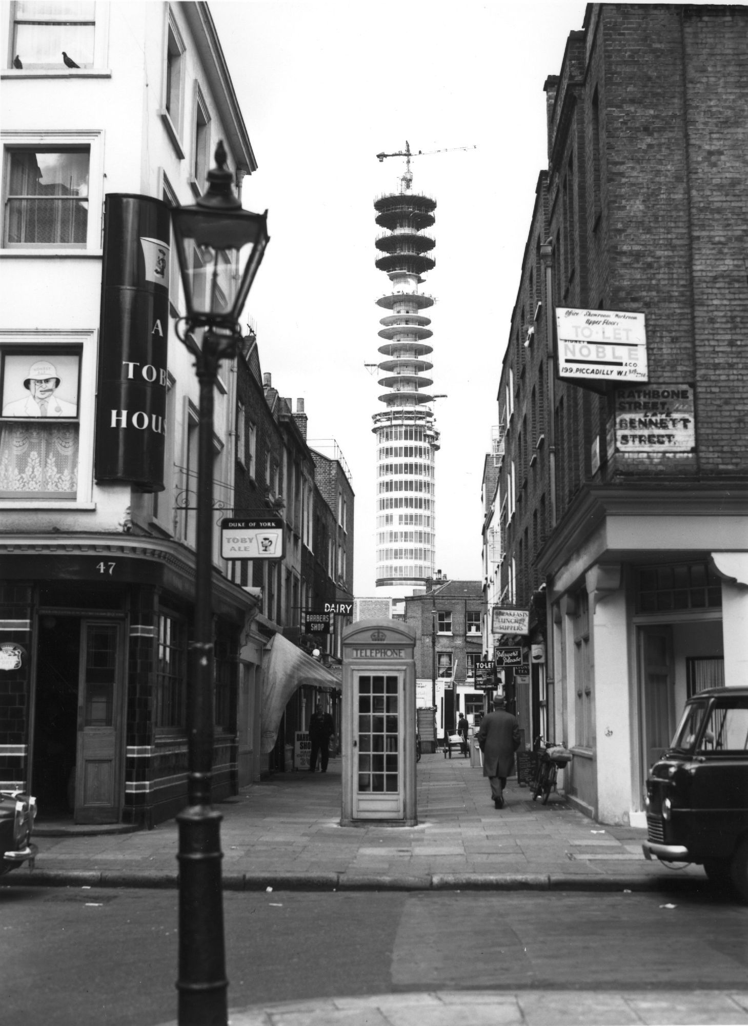 A view of the #BTTower