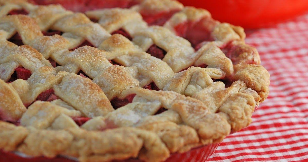 Vegetable Matter: Strawberry Rhubarb Pie