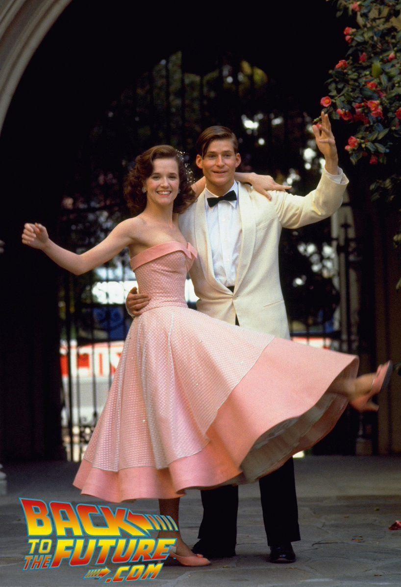 Lea Thompson Prom Dress