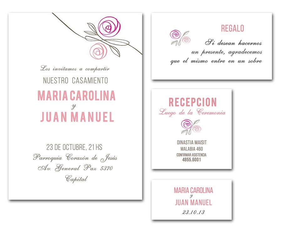 Tarjetas De Invitacion Para Casamiento En Argentina Para