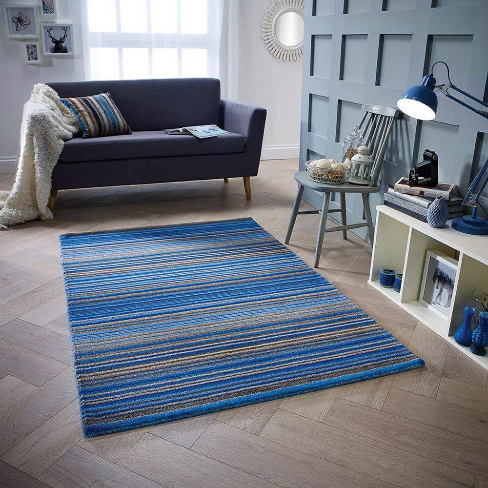 Carter Rugs In Blue Online From The
