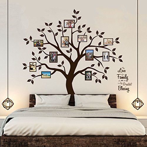 Best Timber Artbox Beautiful Family Tree Wall Decal With Quote 400 x 300