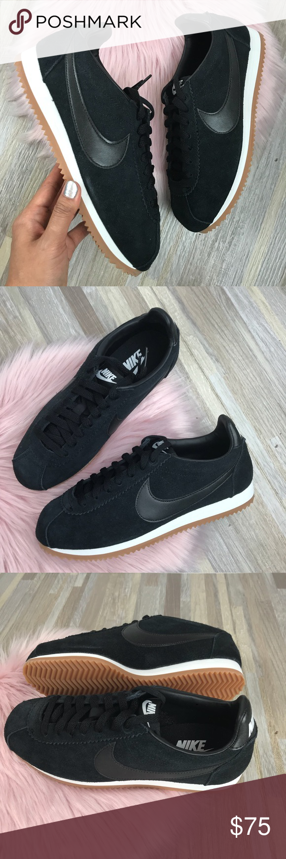 brand new c26ed 3dbcc Nike classic Cortez suede 🦅 • Brand new in box no lid • Black suede •  Women s size 8 Nike Shoes Sneakers