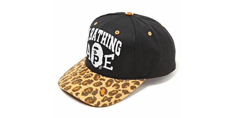 2ecc767a Bape x Starter Leopard Snapback Caps | Sport Mode | Snapback cap ...