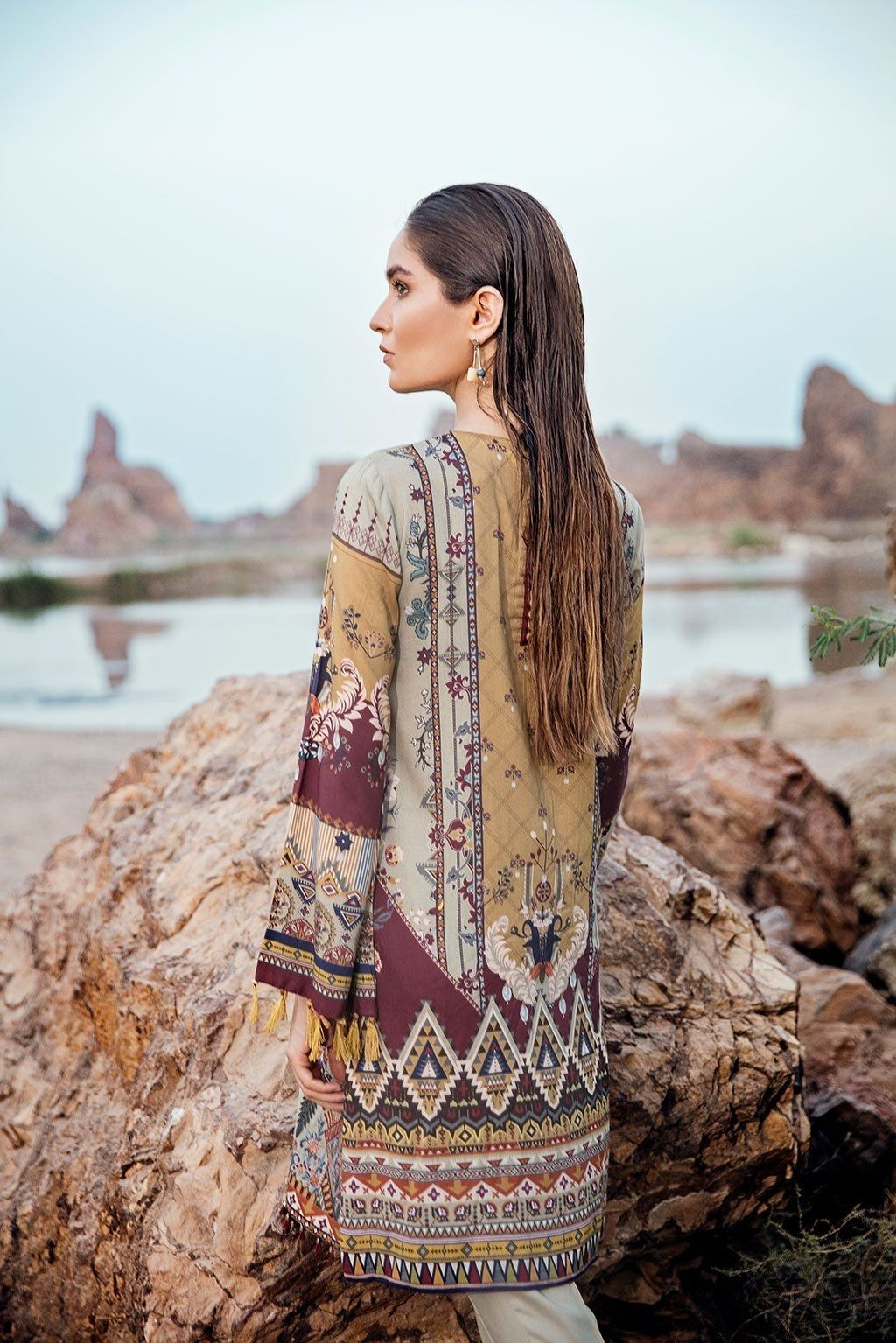 Baroque lawn and all other brands unstitched original and