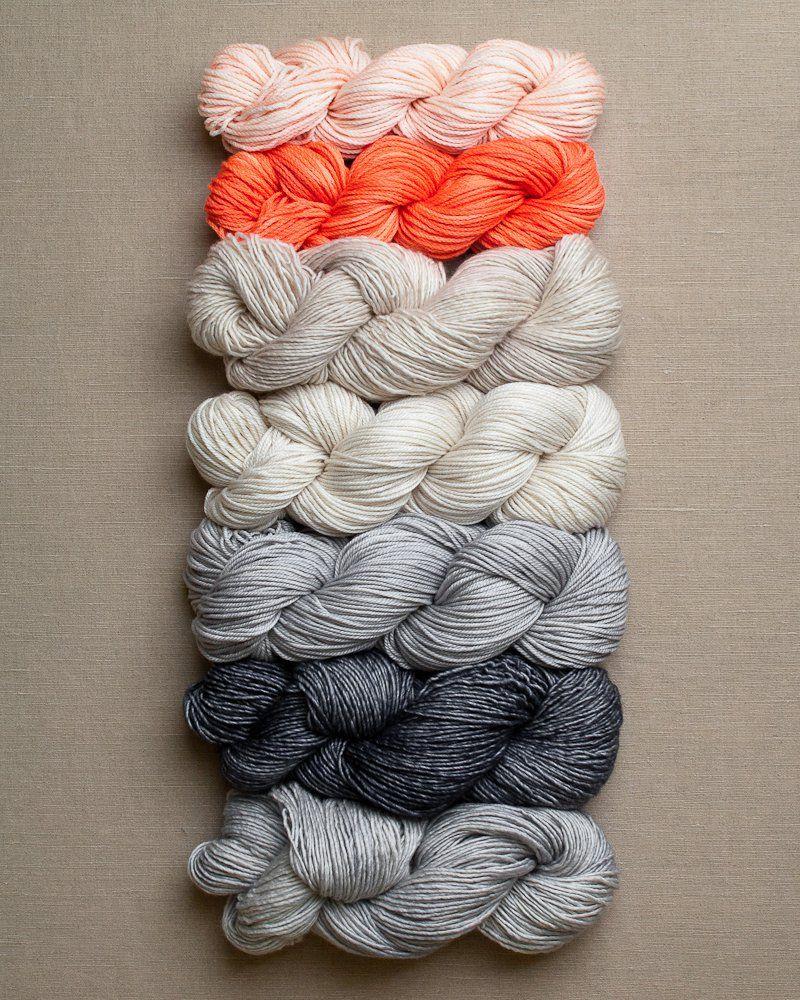 Colorblock Bias Blanket | Purl soho, Blanket and Aunt