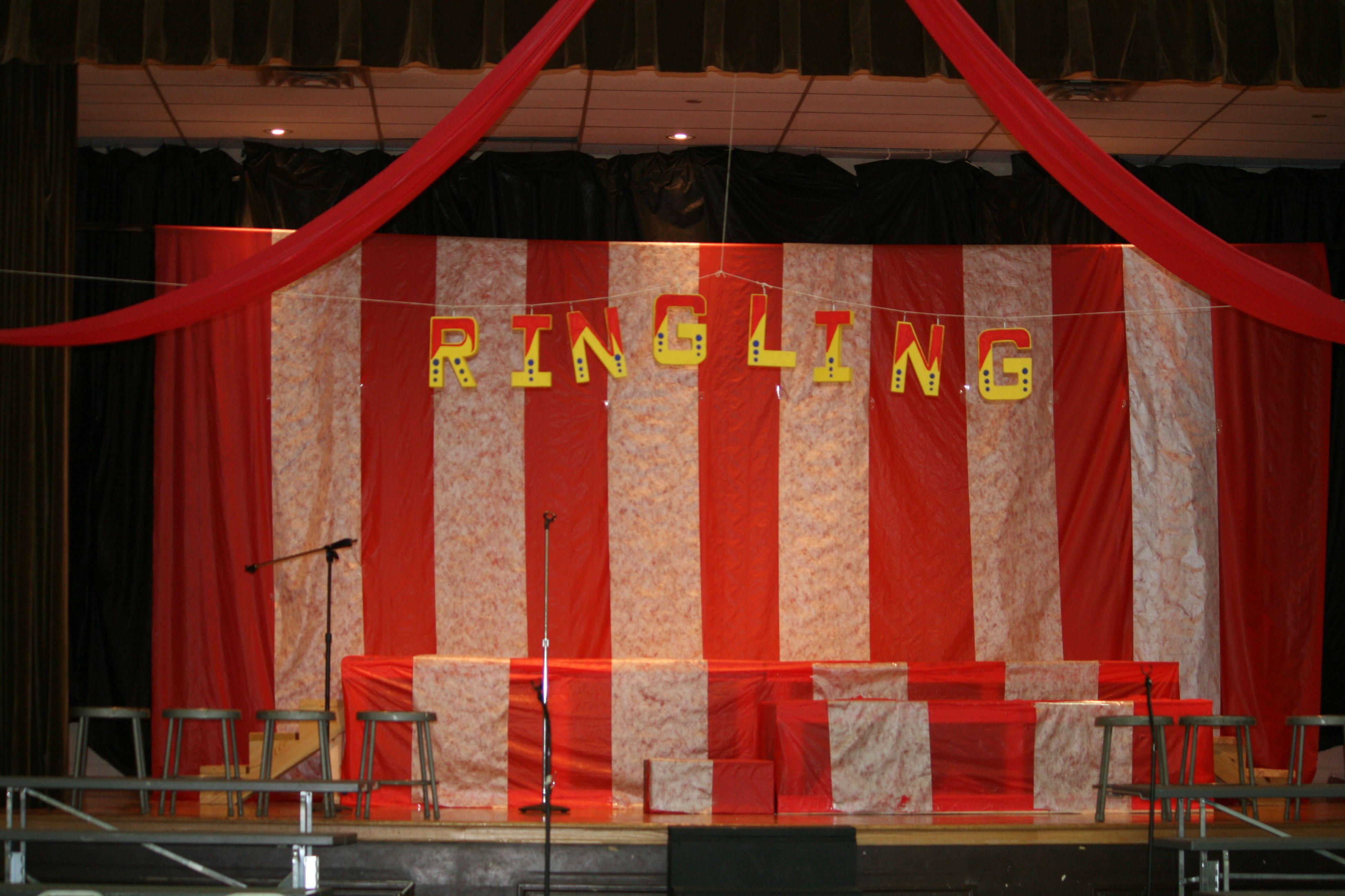 Set For Circus Circus Program