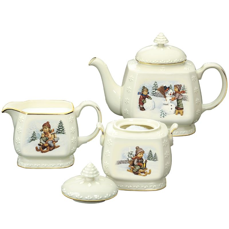 M.I. Hummel® Christmas Tea Set - The Danbury Mint | TEAPOT ...