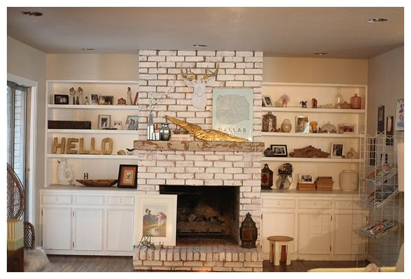 distressed floating fireplace mantle_0014