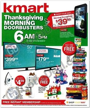 Kmart releases their gigantic 2013 Black Friday ad: Pages ...