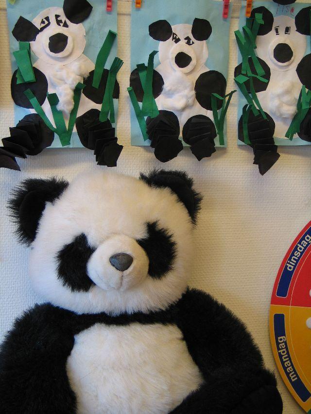 China - pandas & bamboo
