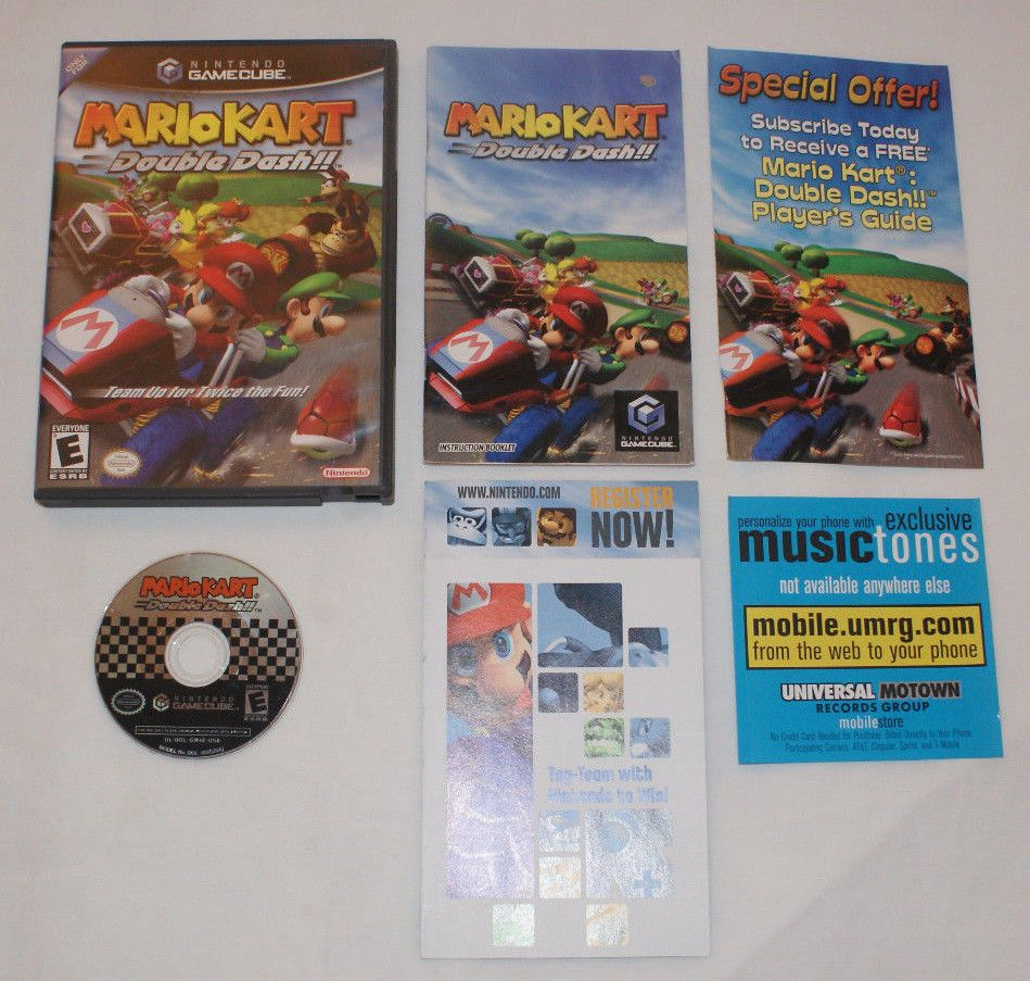 Mario Kart Double Dash Complete With Manual And All Inserts Nintendo Gamecube Gamecube Mario Kart Dash
