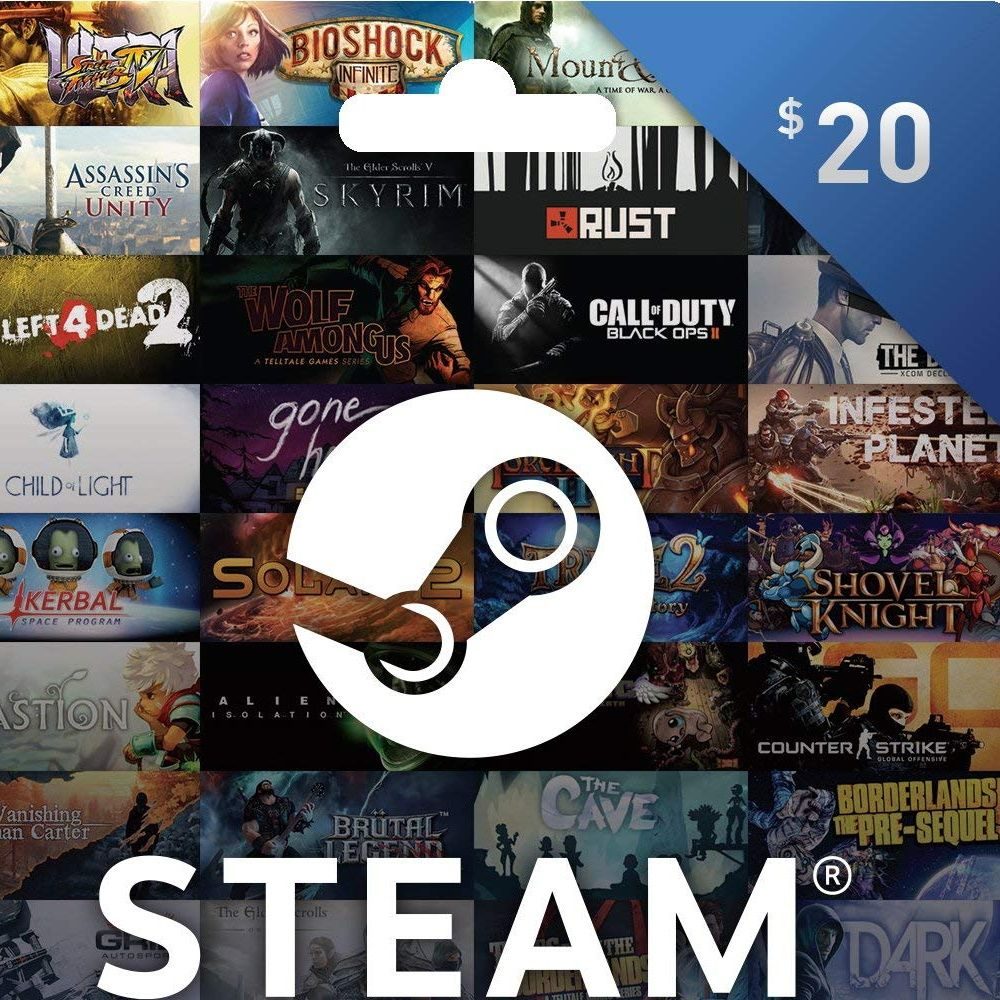 You will get a gift card of your choice for Steam, Xbox