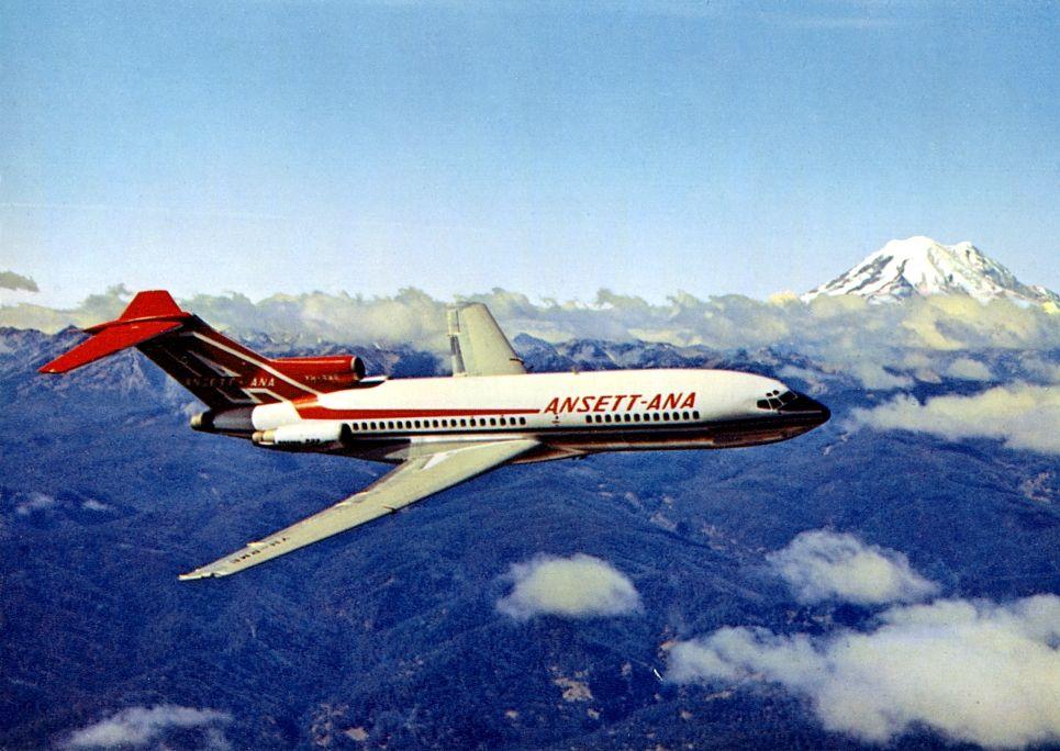 Ansett Boeing 727 77( VHRME) ANSETT ANA (19641968