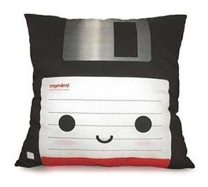 Floppy Disk Pillow