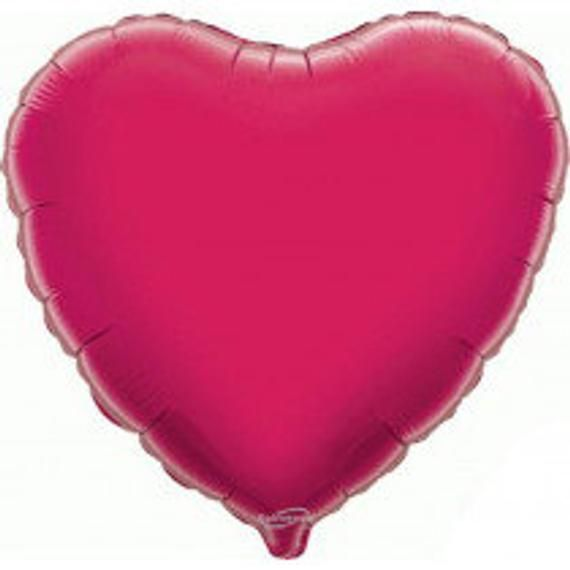 Personalised heart shape Foil balloon. 18inches personalised balloons, mylar balloons, foil balloon, balloon in a box