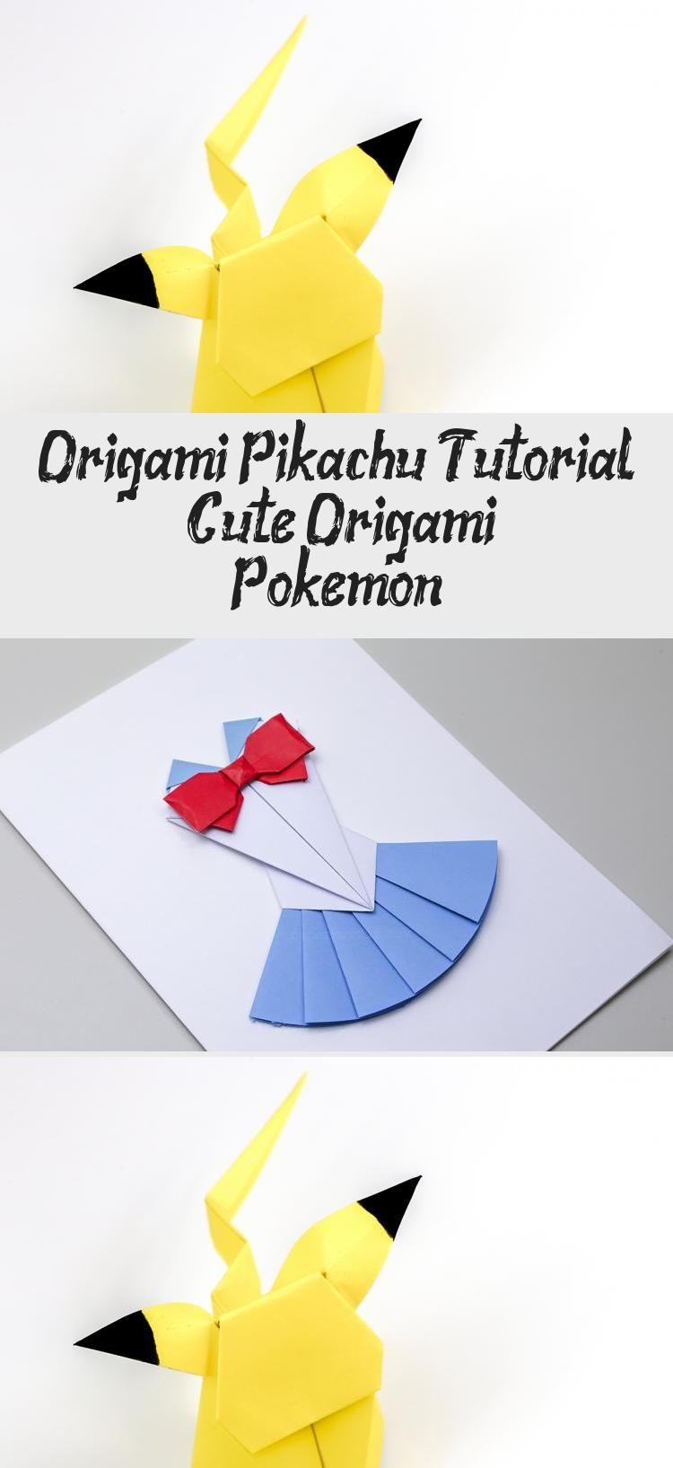 Photo of Origami Pikachu Tutorial – Süßes Origami Pokemon! – Papier Kawaii #origamiVideos # …