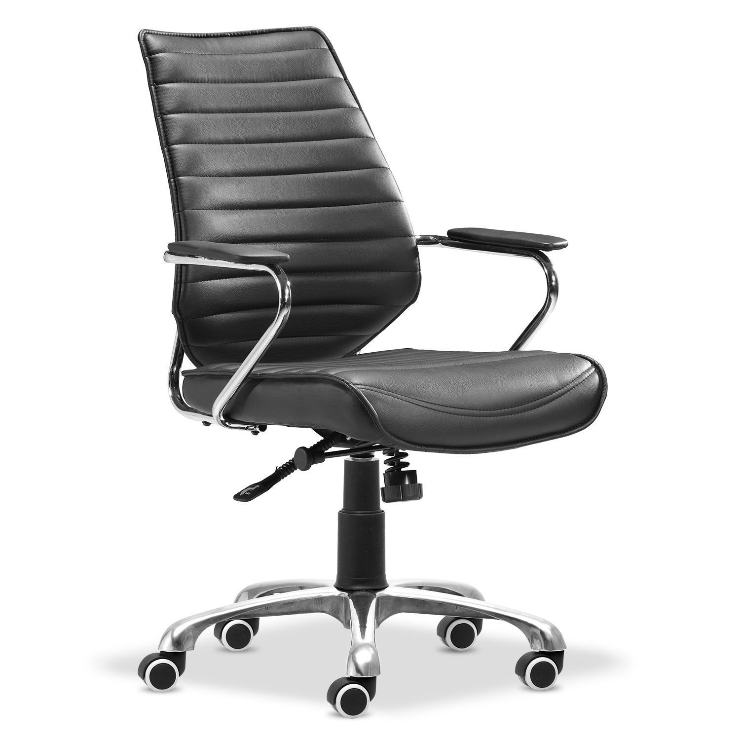 Home Office Furniture Graham Office Arm Chair Black Office