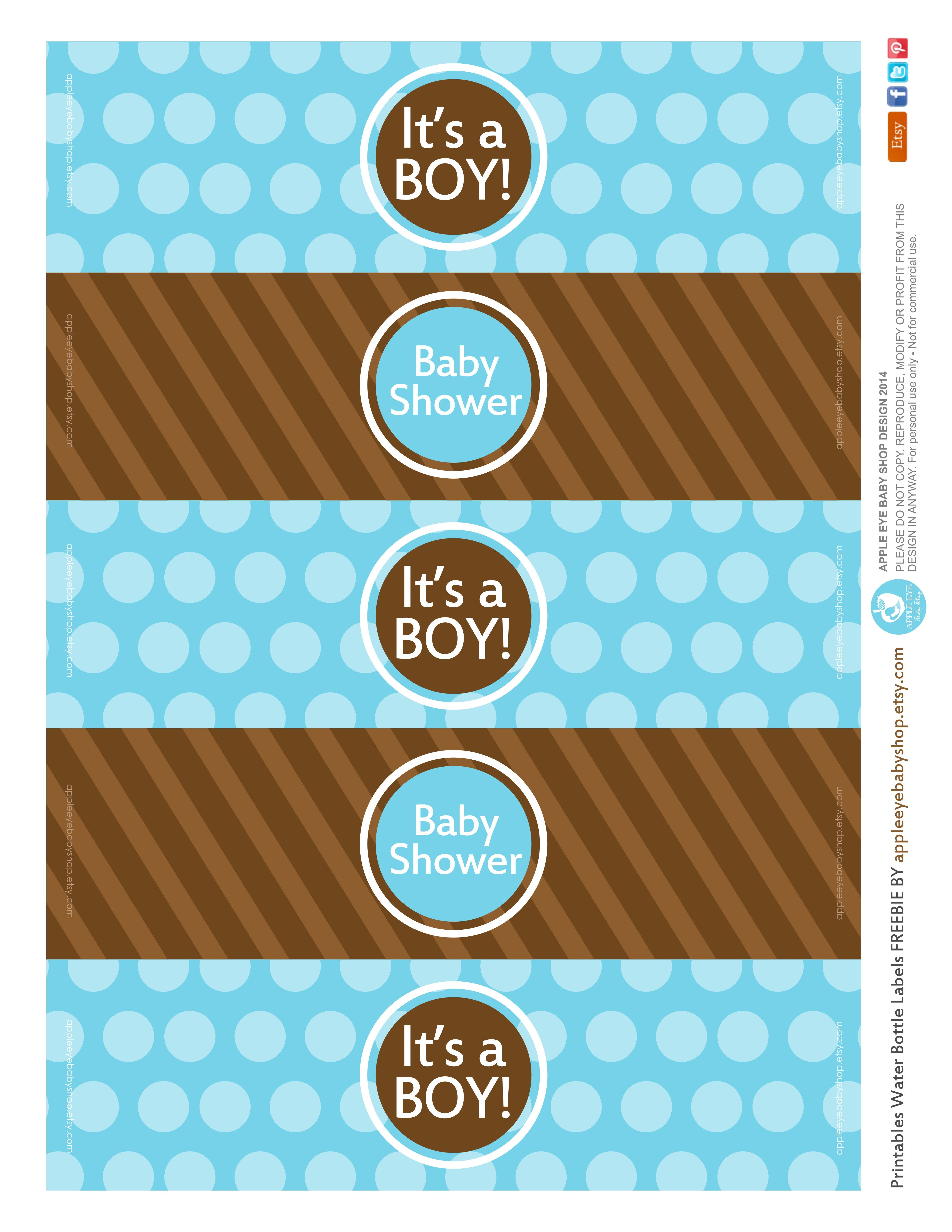 All Sizes Free Printable Water Bottle Labels Baby Boy By Le Eye Flickr Photo Sharing