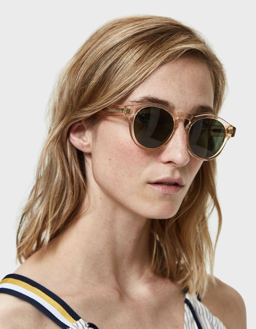 Komono Clement Sunglasses In Champagne Sunglasses Sunglasses Women Round Sunglass Women