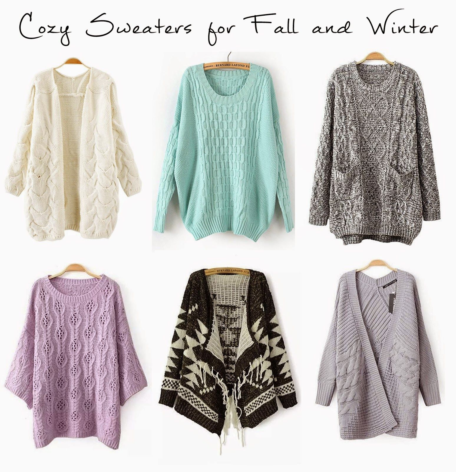 Lily The Wandering Gypsy : Sweaters for Fall and Winter!! | Lookin ...