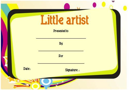 Kids Certificate Templates Yelomdiffusion