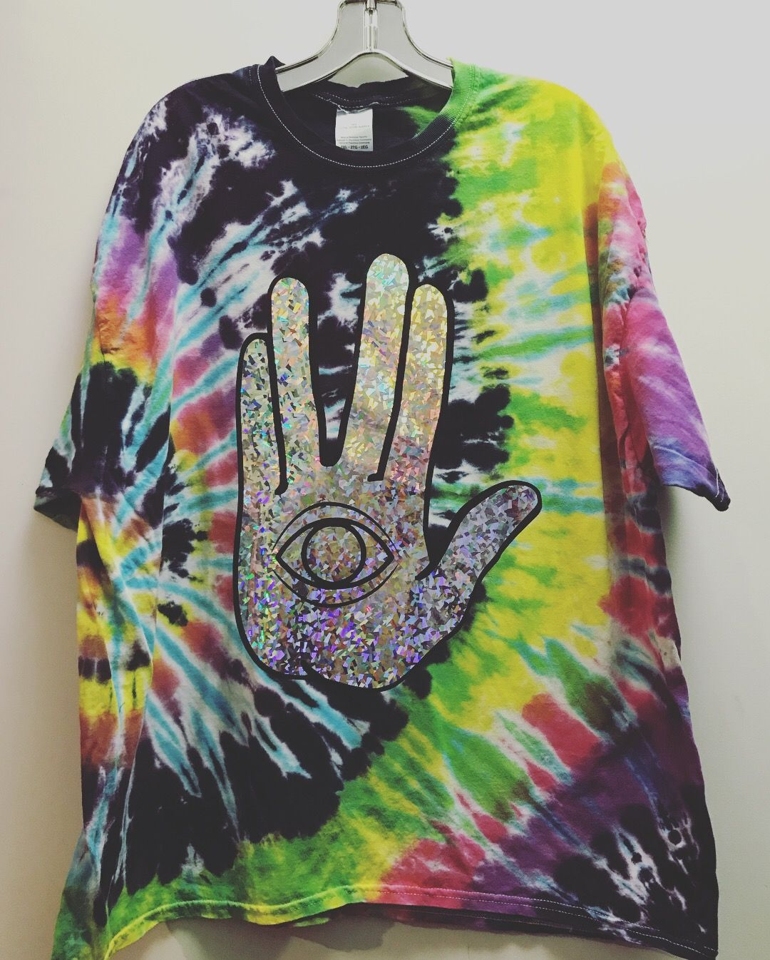 34933748 Rezz Holographic Tie Dye Tee Rave clothing Festival outfit Rave girl Raver  Kandi kid Electric daisy carnival EDCLV Edc Insomniac Electric forest  Okeechobee ...