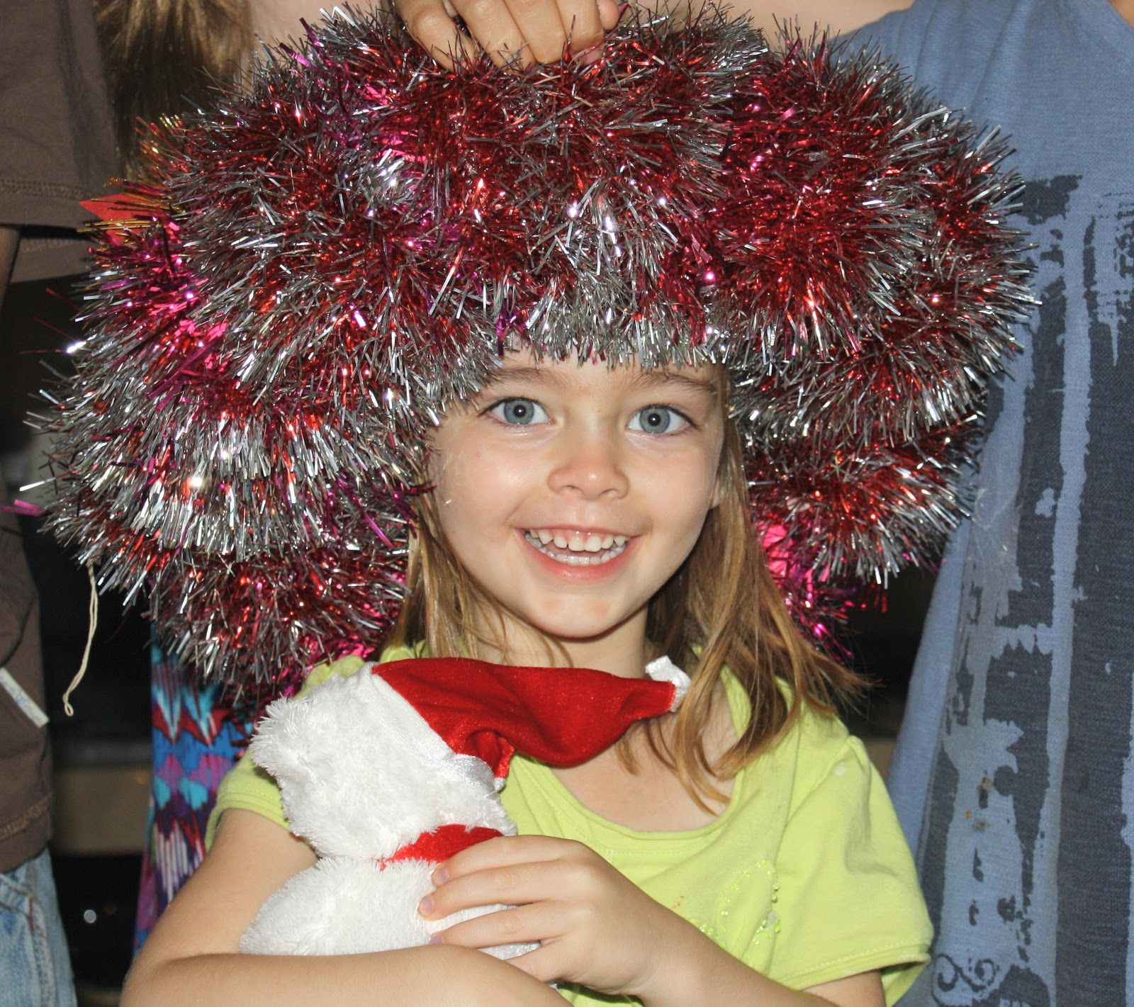 Christmas wreath relay race. #christmas #party #games | A Holiday ...