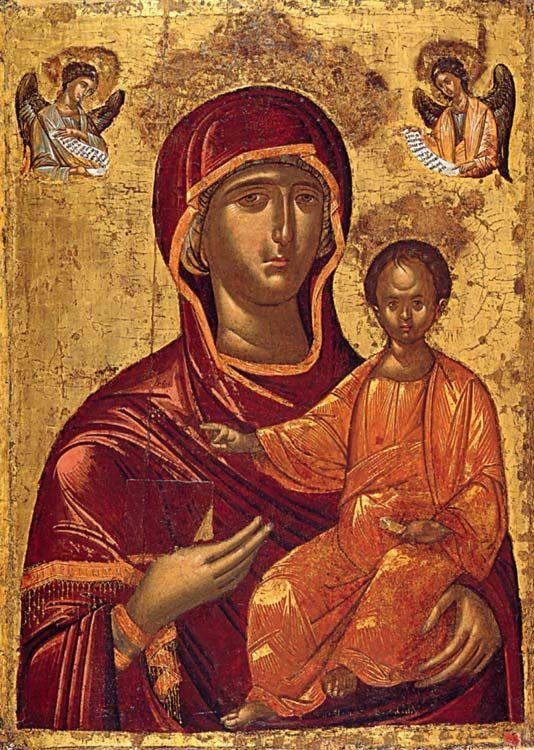Vergine Odighitria XVI sec.