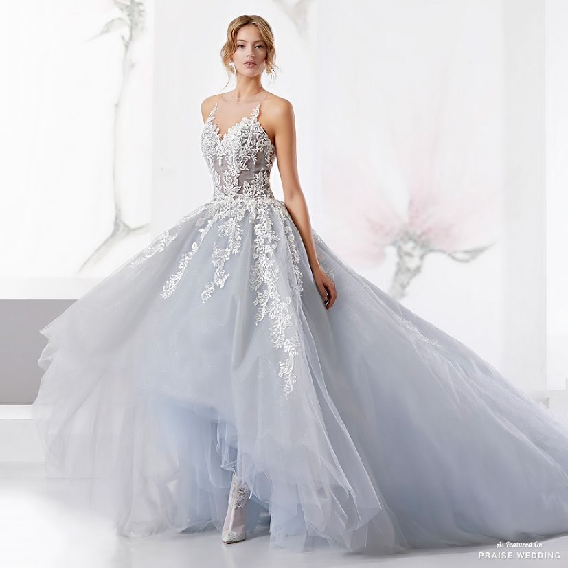This Pastel Blue Ball Gown From Jolies By Nicole Spose Is