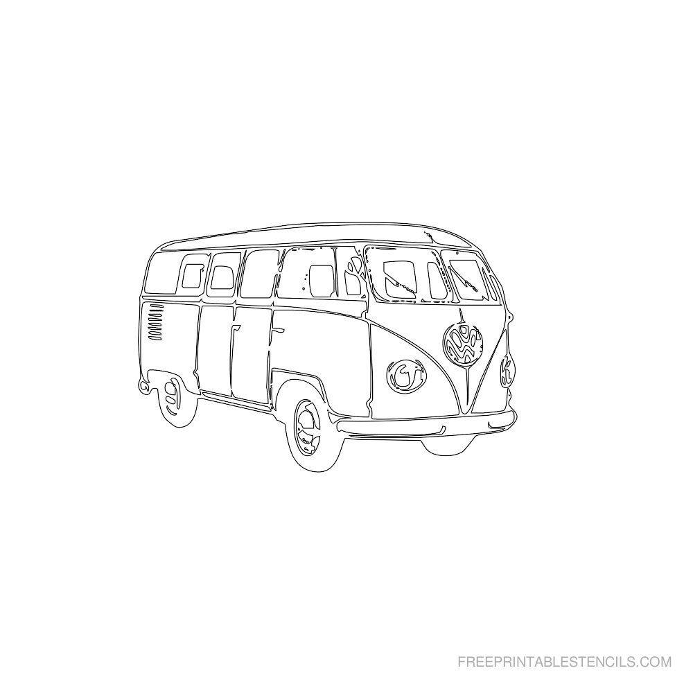Free Printable Vintage Car Stencils Free Printable Stencils Com
