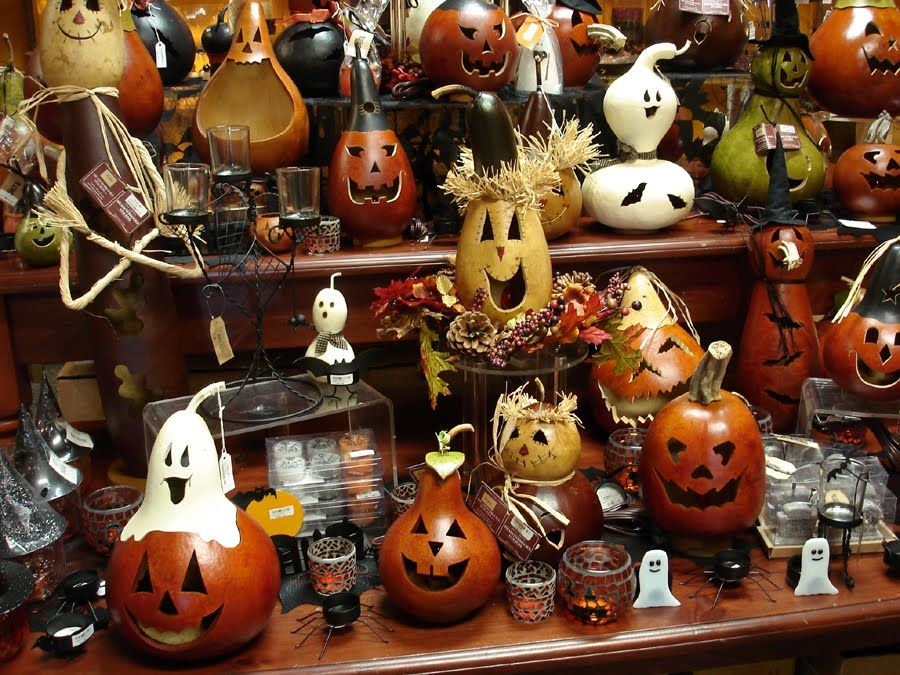 Bored Out Of Your Gourd Halloween Gourds Painted Gourds Gourds Crafts