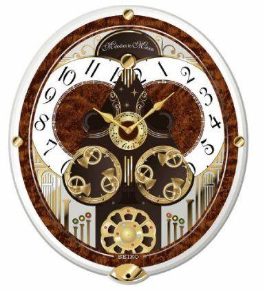 Seiko Melodies In Motion Swarovski Crystallized Clock Watches