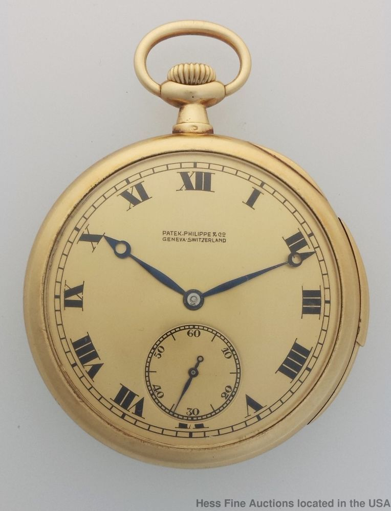 0886470b92a Patek Philippe Minute Repeater 18k Gold 31J Large Mens Vintage Pocket Watch   PatekPhilippe