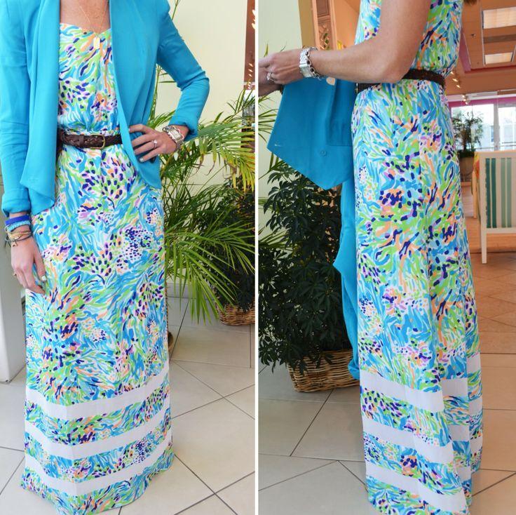 Buy the cheapest fashion @ www.kpopcity.net!! Lilly Pulitzer Deanna Spaghetti Strap Maxi Dress