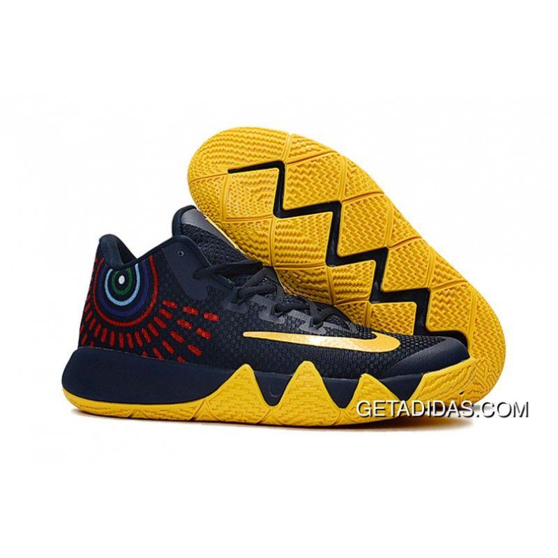 2017 Nike Kyrie 4 Deep Blue Yellow Cheap To Buy Price 9897  Adidas