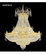 James R Moder 93607gl22 Entry Chandelier Collection 30 Light Large Foyer Chandelier In Gold Lustre With Imperial Crystal