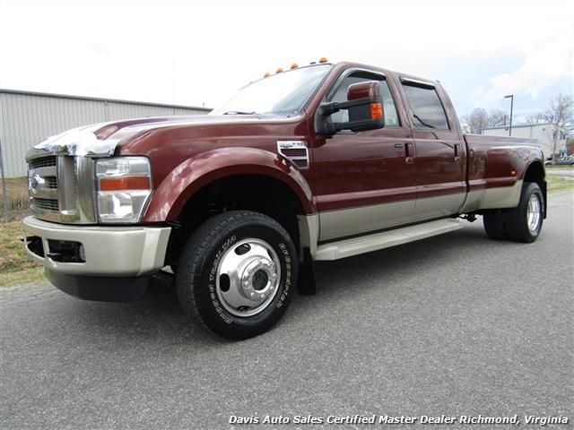 2008 Ford F 350 Super Duty King Ranch Lariat 4x4 Diesel Crew Cab