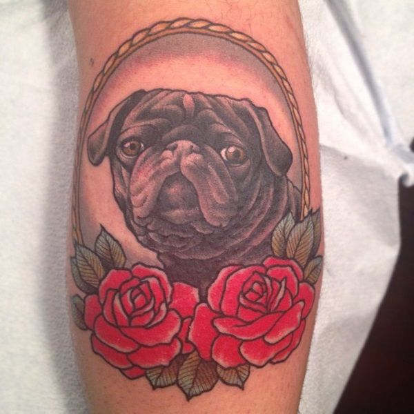 Pin By Lainie Rieger On Tattoos Pug Tattoo Picture Tattoos Tattoos