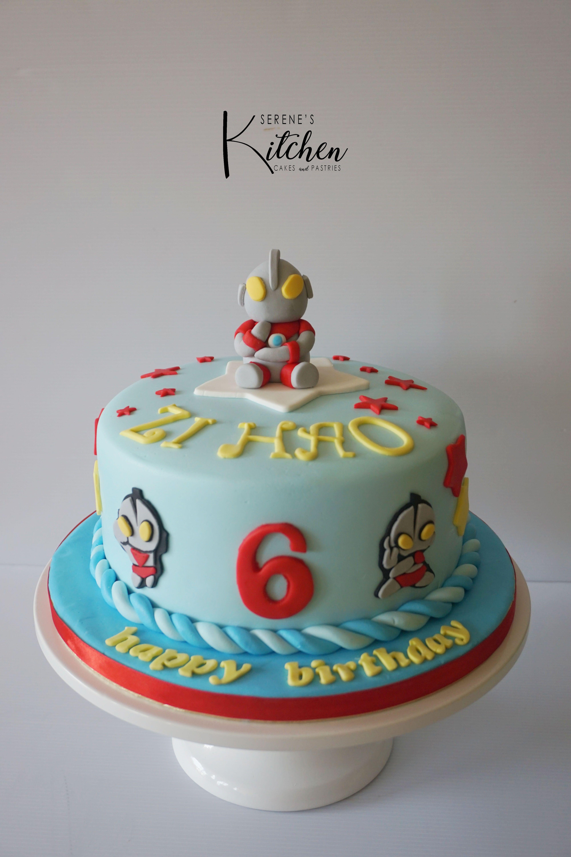 Ultraman cake by serenesskitchen Resep