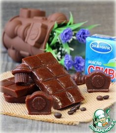 Шоколадная конфетка очень ее заводит